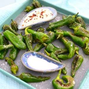 Padron Peppers with Alioli