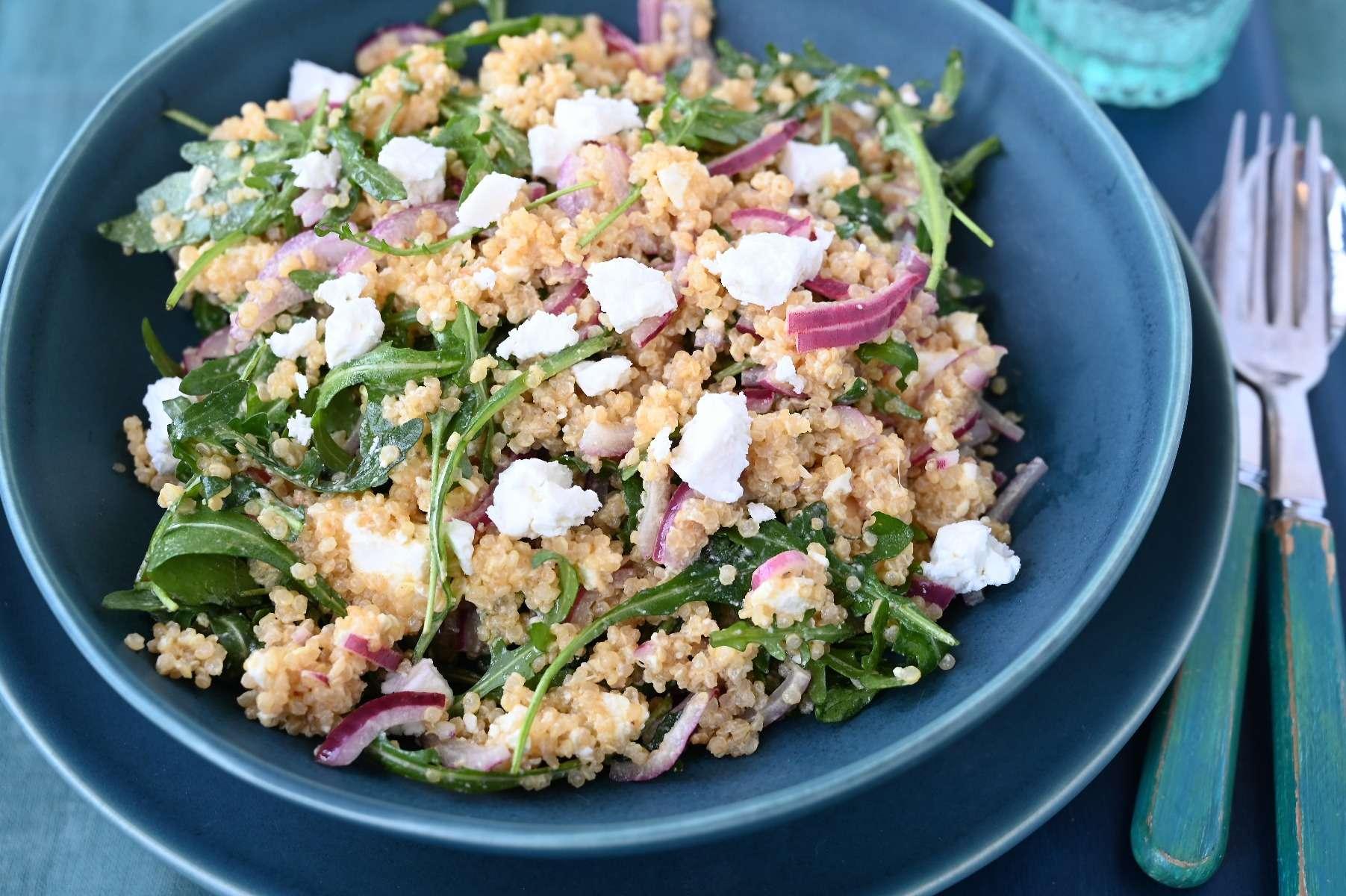 Quinoa, Rocket and Feta Tabbouleh
