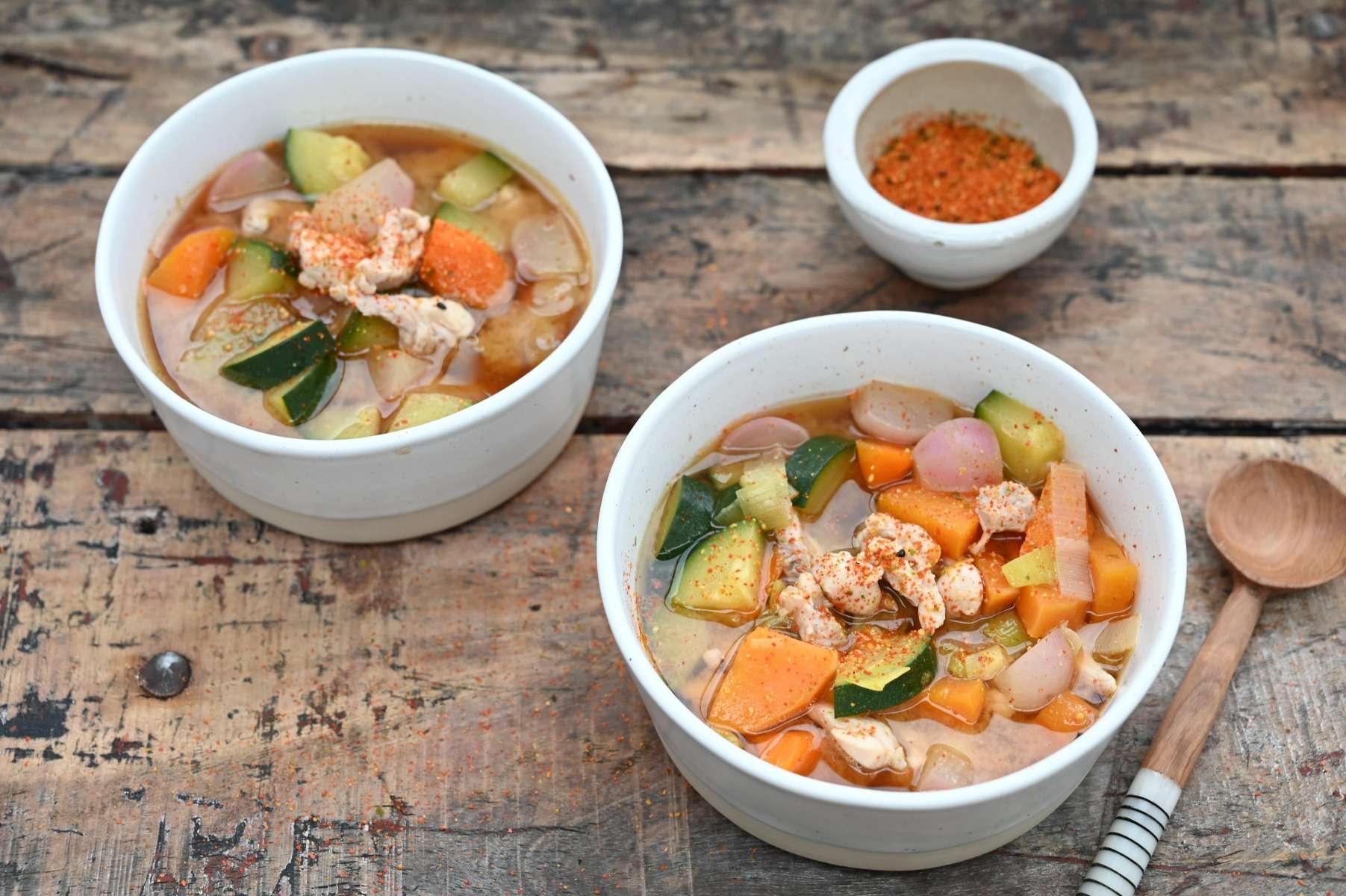 Chicken & Veg Miso Soup